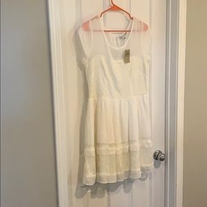 NWT America Eagle cream dress